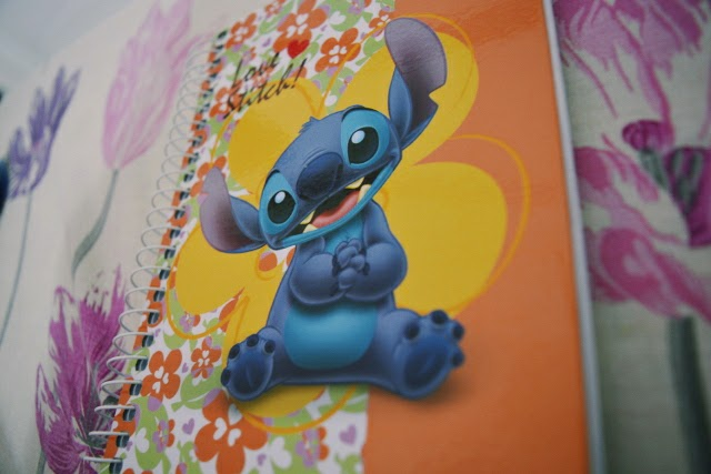 Caderno do Stitch