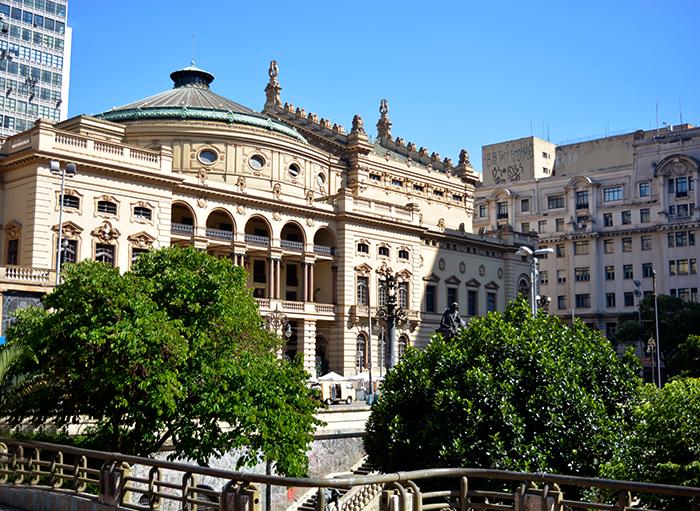 Centro de São Paulo - Theatro Municipal
